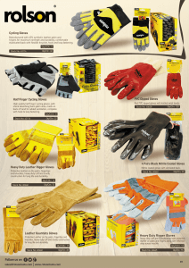 Gloves Brochure 2017