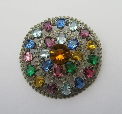 1920s Neiger Brothers Brooch
